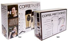 Prank gift without having to actually give somebody a crappy gift. Joke gift empty boxes - Coffee Talkies
