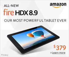New Fire HDX 8.9 - Our Most Powerful Tablet Ever * Read more reviews of the product by visiting the link on the image.