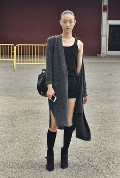 The Front Row View: Street Style: Sora Choi's '90s Inspired Look
