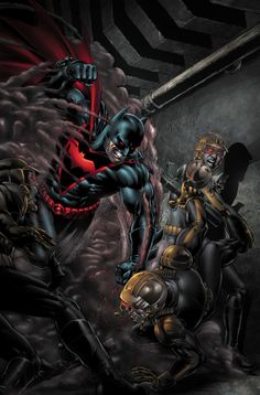 Earth 2 Superman / Earth 2 Batman by Ethan Van Sciver