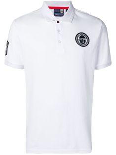7e0dd081 SERGIO TACCHINI SERGIO TACCHINI EMBROIDERED POLO TOP - WHITE. # sergiotacchini #cloth