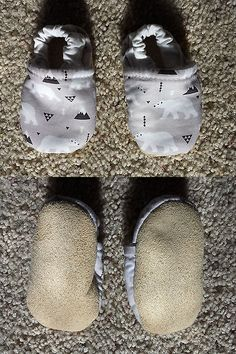 Baby Girls Shoes: 0 To 3 Month Soft Sole Baby Shoes (Polar Bear Print) BUY IT NOW ONLY: $3.0