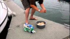 UVIOO.com - How To Make 'Bread Soup' Groundbait For Mullet Fis