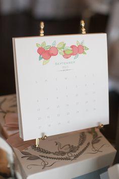 Karen Adams Designs Desktop Calendar