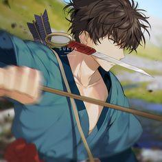 More traditional anime-style Ashitaka. All Studio Ghibli Movies, Studio Ghibli Art, Best Ghibli Movies, Totoro, Howl's Moving Castle, Princes Mononoke, Personajes Studio Ghibli, Manga Anime, Anime Art