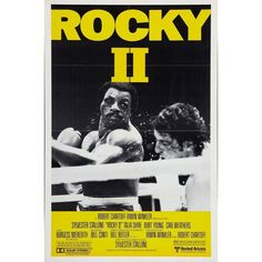 Directed by Sylvester Stallone. With Sylvester Stallone, Talia Shire, Burt Young, Carl Weathers. Rocky struggles in family life after his bout with Apollo Creed, while the embarrassed champ insistently goads him to accept a challenge for a rematch. Rocky Balboa, Sylvester Stallone, Rocky Ii, Rocky 1976, Original Movie Posters, Film Posters, Rocky Poster, Stallone Rocky, Posters