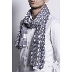 Chèche bleu Deauville - 100% coton ullys boutique accessoires homme