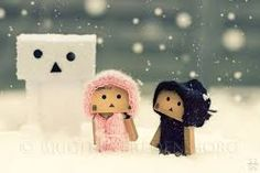 The Snow-Danbo by =Brigitte-Fredensborg Danbo, Smile Wallpaper, Photo Wallpaper, Robot Costumes, Amazon Box, Teddy Bear Pictures, Best Photo Background, Funny Picture Jokes, Cute Box