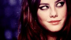 "She just smiled. You know, that Effy smile that means ""you don't know me at all. You never will."""