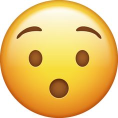Shocked Emoji, Surprised Emoji, Angry Emoji, Smiley Emoji, Emoji Pictures, Emoji Images, Smileys, Suprised Face, Iphone Png