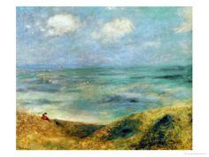 Seashore at Guernsey, by Renoir