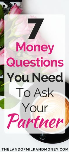Discussing finances with your partner isn't fun but it's SO important for a strong relationship to talk about how we save money, budgeting and frugal living. I love these questions to ask my partner, they're some of the best relationship advice I've gotten!