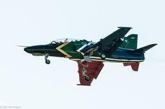 SAAF Hawk with wheels down