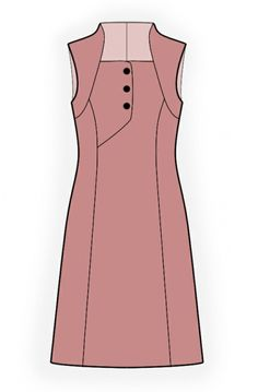 trendy ideas for dress pattern tunic free sewing Simple Dresses, Short Dresses, Girls Dresses, Dresses For Work, Clothing Patterns, Dress Patterns, Sewing Patterns, Sewing Clothes Women, Clothes For Women