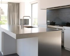Beste afbeeldingen van keukens roestvrij staal houses