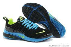 best service a5dba 63360 Buy For Sale Mens Nike Air Presto Black Blue Green Shoes Nike Air Presto  Noir
