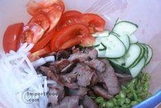 Eating clean thai style. Thai Beef Salad, 'Yum Nuea'.