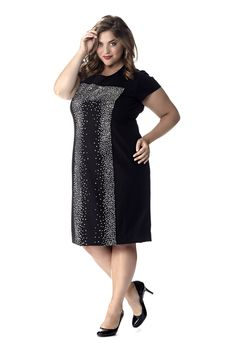 Celebrations Plus Size Stella Party Dress