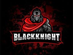 Black Knight graphic design awesome logo gaming esport mascot logo first design esportlogo Logo Esport, Logo Line, Art Logo, Logo Desing, Game Logo Design, Warrior Logo, Knight Logo, Esports Logo, Retro Logos