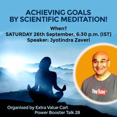 26 September, Achieving Goals, Meditation Techniques, Subconscious Mind, Join, Challenges, Mindfulness, Organization, Learning