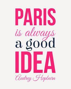 Weekend Freebie: Paris is Always a Good Idea