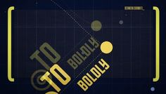 Intro Of 'Star Trek' Recreated, Using Minimalistic Graphics And Typography