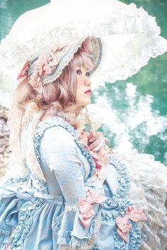 "portal-of-fantasy: "" ""Pompadour OP "" "" Japanese Streets, Japanese Street Fashion, Harajuku Fashion, Lolita Fashion, Visual Kei, Brolita, Grunge, Angelic Pretty, Pompadour"