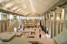 Yokohama Museum of Art, Kenzo Tange