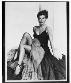 Ava Gardner, 1951 :: Los Angeles Examiner Collection, 1920-1961