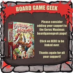 Gorus Maximus - A trick-taking game of gladiatorial combat! by Conor McGoey — Kickstarter