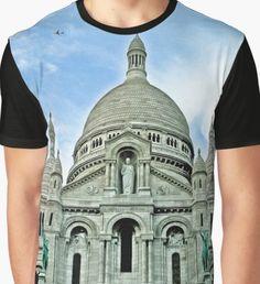 Sacre Coeur Paris  Graphic T-Shirt