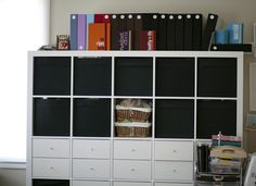 expedit with baskets & drawers