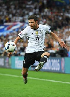 Jonas Hector Photos - Jonas Hector of Germany in action during the UEFA EURO 2016 Group C match between Germany and Poland at Stade de France on June 2016 in Paris, France. - Germany v Poland - Group C: UEFA Euro 2016 Uefa European Championship, European Championships, Uefa Euro 2016, June 16, Paris France, Poland, Squad, Germany, Soccer