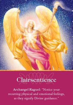 """""""Clairsentience"""" Oracle Card Clairsentience 