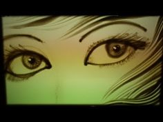 "▶ Sand Art by Ilana Yahav - SandFantasy - ""My eyes"" - Yehuda Poliker in Caesarea - YouTube"