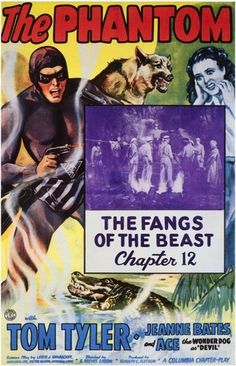 The Phantom. Serial. 1943 #Poster #superheroes #thephantom