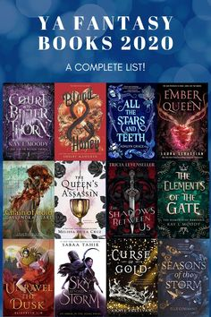 Complete list of young adult fantasy books released in 2020. Releases are organized by month. Includes links to the new release as well as other books in the series! Click through to see them now.  books to read | young adult books | YA books | new releases | book covers | fantasy for young adults | teen reads | YA books for adults Best Fantasy Romance Books, Adult Fantasy Books, Fantasy Books To Read, Teen Romance Books, Romance Novels, Top Books To Read, Good Books, Ya Books, Book Suggestions
