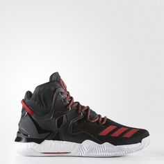 1c771a9ea31f Adidas D Rose 7 Basketball Shoe - Scarlet Burgundy White (Red Red