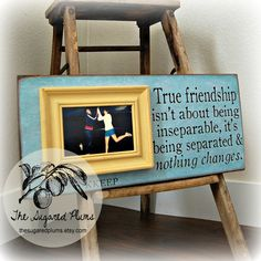 Best Friend frame, so cute!