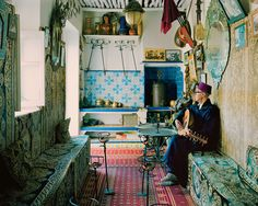 The Cercle de Musique Arabo-Andalouse, Tangier Morocco.