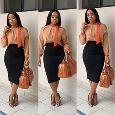 ♡ Casual Work Outfits, Work Attire, Classy Outfits, Chic Outfits, Fashion Outfits, Womens Fashion, Dress Attire, Workwear Fashion, Fashion Blogs