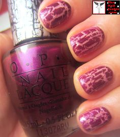 """The Nail Junkie: 3 Part Mani: Part 3: More Layering: OPI """"Super Bass Shatter"""""""