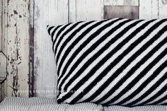 Stripy pillow