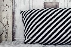 Stripy pillow