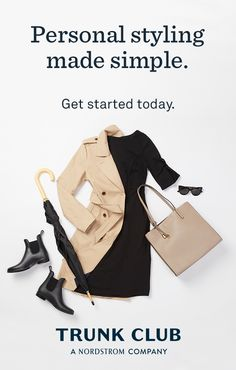 Wish the latest work wear would just show up at your door? With Trunk Club, you're paired with your own stylist who shops for you based on your unique style and budget. Getting started is so simple.