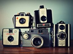 Nothing better than old cameras