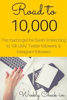 Road to 10,000: Monthly Blogging Updates and Strategy, Month 5 | Sarah Smirks: The Marketing Mama Blog (www.sarahsmirks.com)