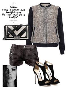 """Sem título #1111"" by alandim on Polyvore featuring moda, Phase Eight, IRO e Chanel"