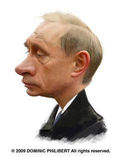 Vladimir Putin // by Dominic Philibert
