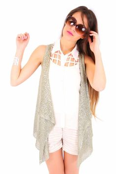 All That Glitters Vest